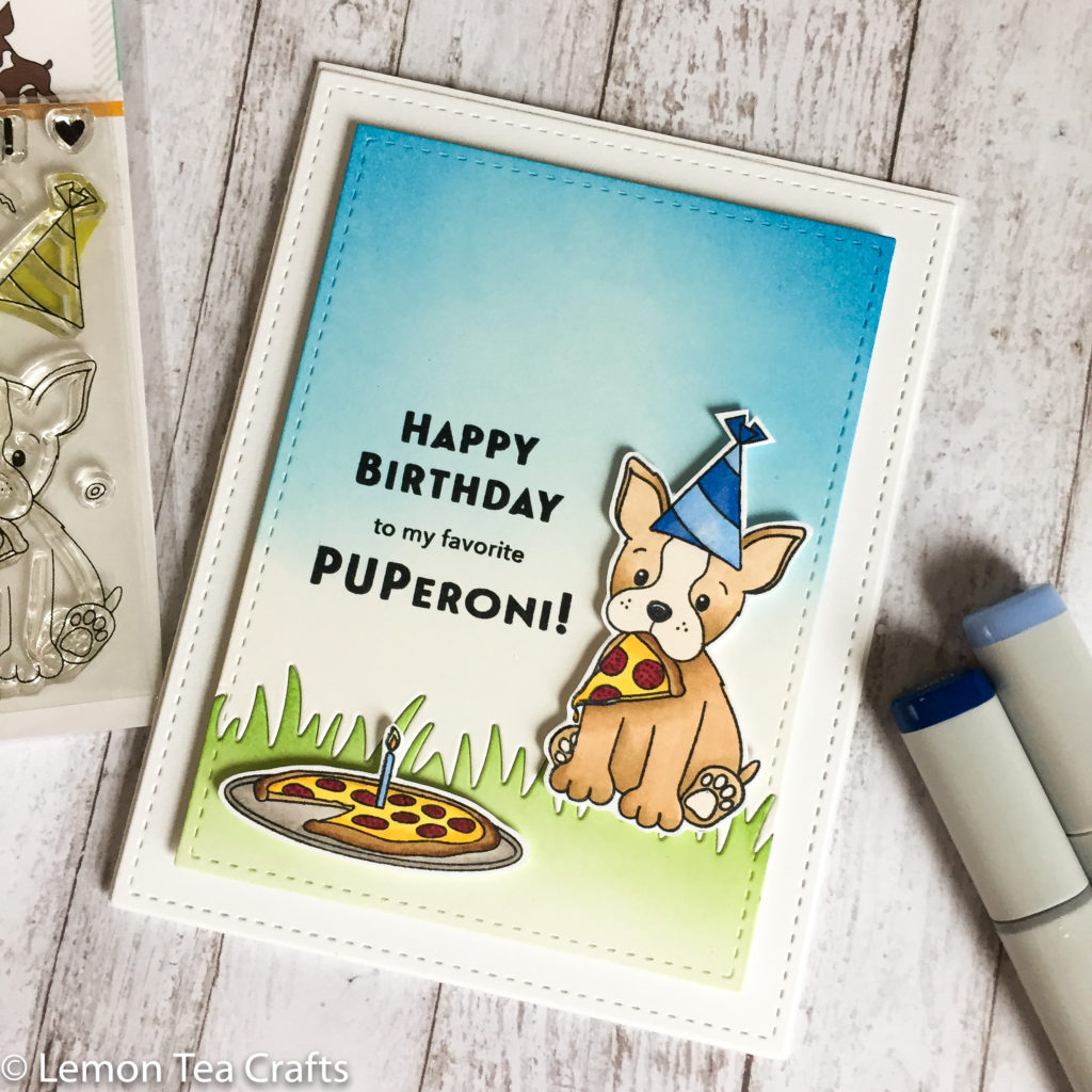 I sent this to a friend's son who turned 9 and loves pizzas and puppies! Can't get anymore perfect than this!