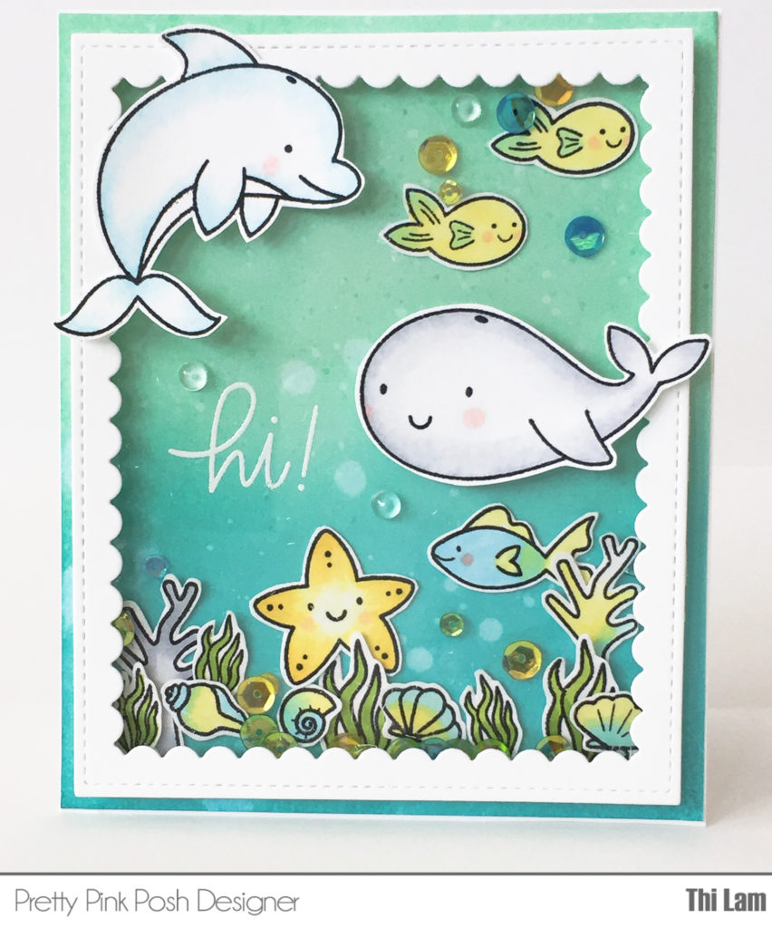 PPP Sea Friends card