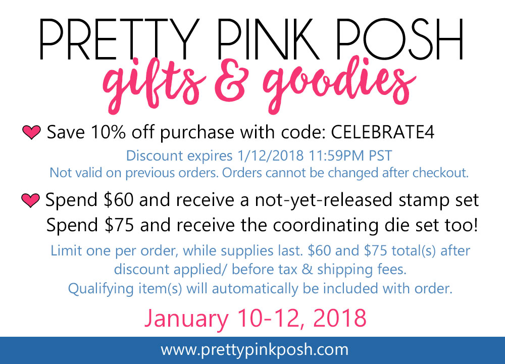 Pretty Pink Posh Gifts and Goodies