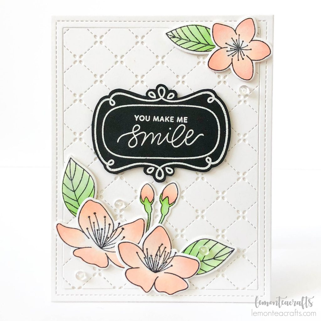 Lemon Tea Crafts - Handmade card