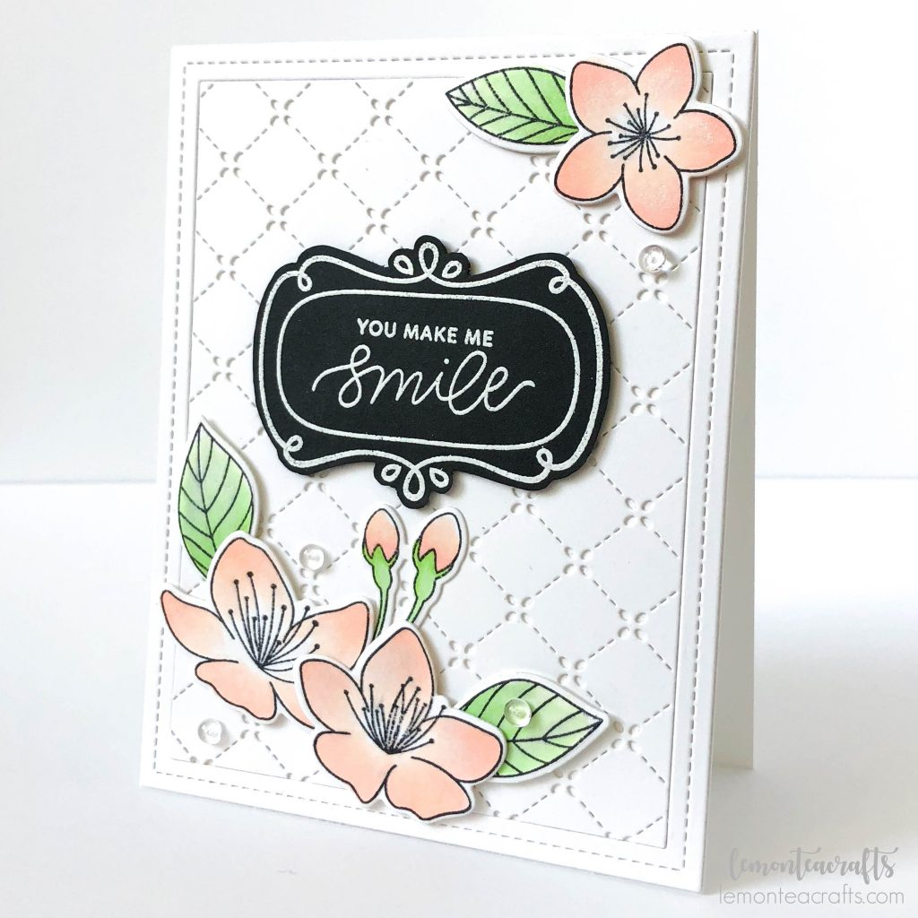 Handmade card by Lemon Tea Crafts