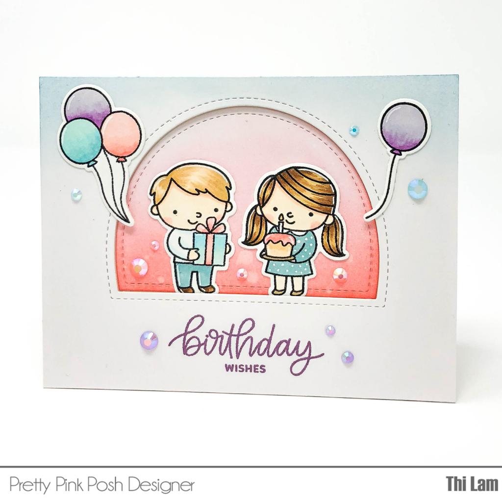 Pretty Pink Posh Birthday Friends | Lemon Tea Crafts