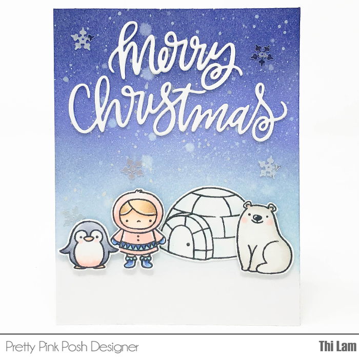 Pretty Pink Posh Winter Wonderland by Thi Lam